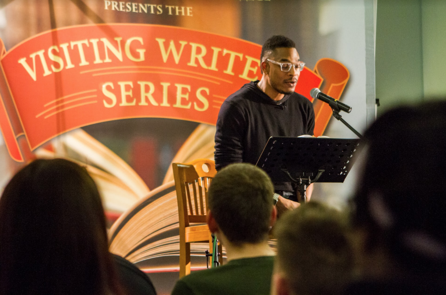 Terrance Hayes reads sonnets from his yet-to-be-released poetry book,