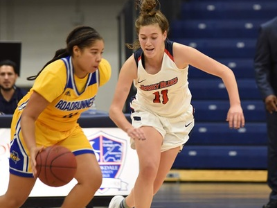 Women's basketball team tackles one goal at a time this season