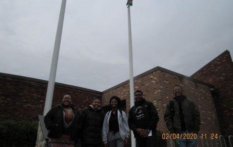 FLAG-RAISING KICKS OFF BLACK HISTORY MONTH