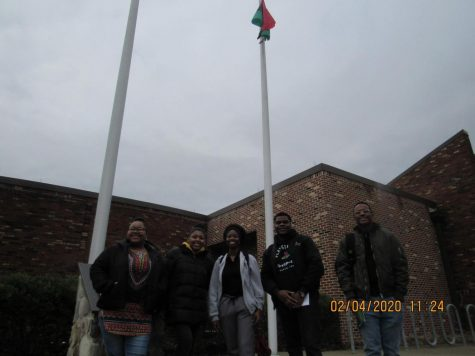 FLAG-RAISING KICKS OFF BLACK HISTORY MONTH