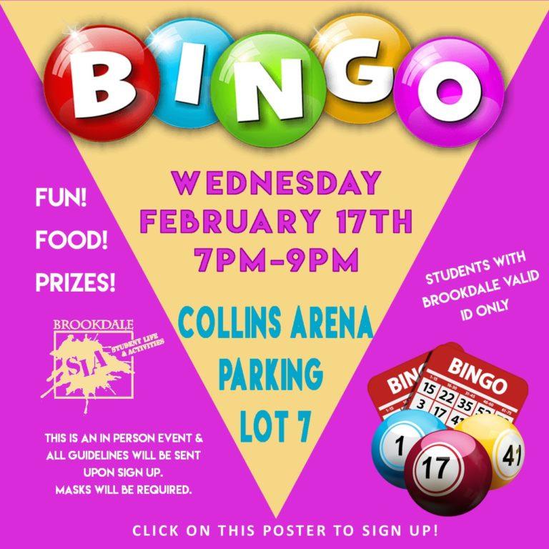 B-8: Bingo! Join the Fun, Feb. 17