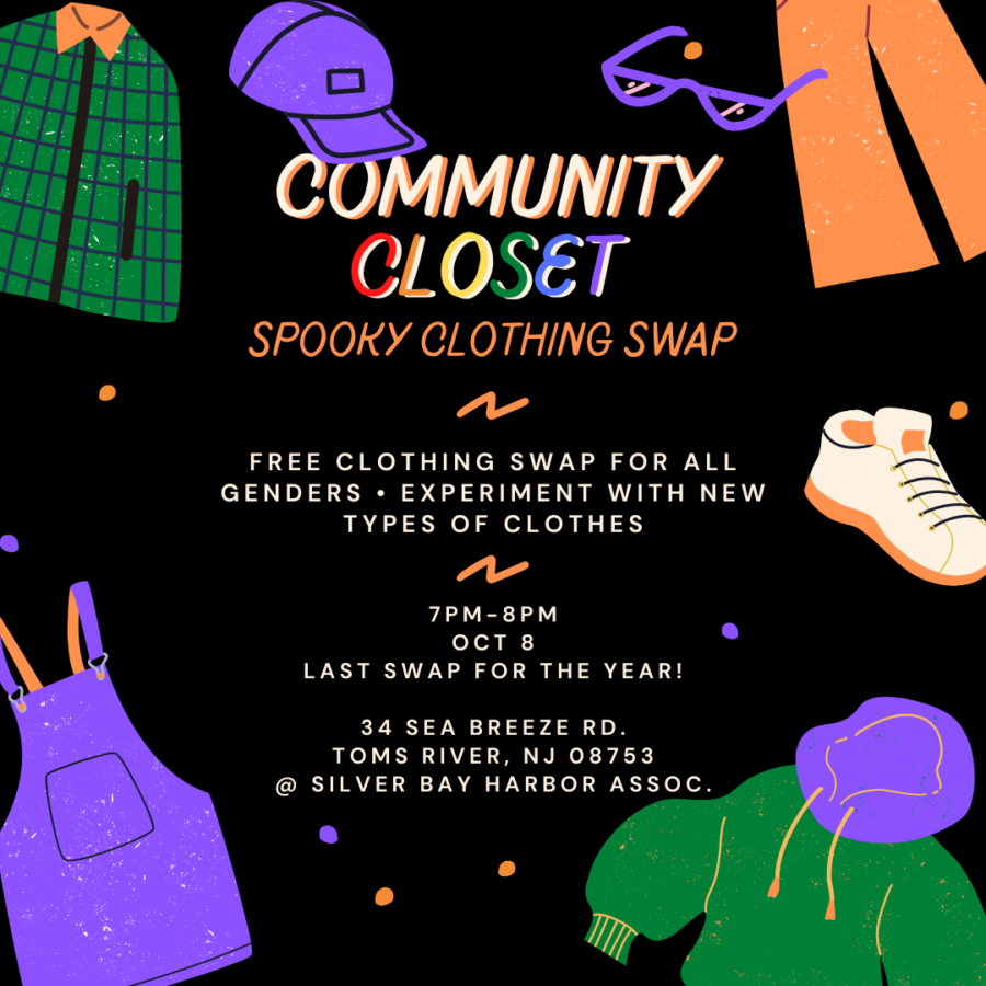 Free LGBTQ+ Friendly Clothing And Halloween Costume Swap In Toms River